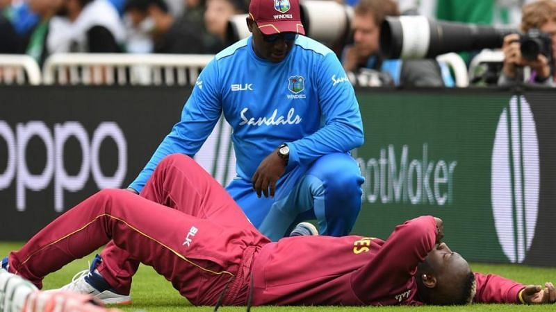 West Indies all-rounder Andre Russell has been ruled out of the World Cup