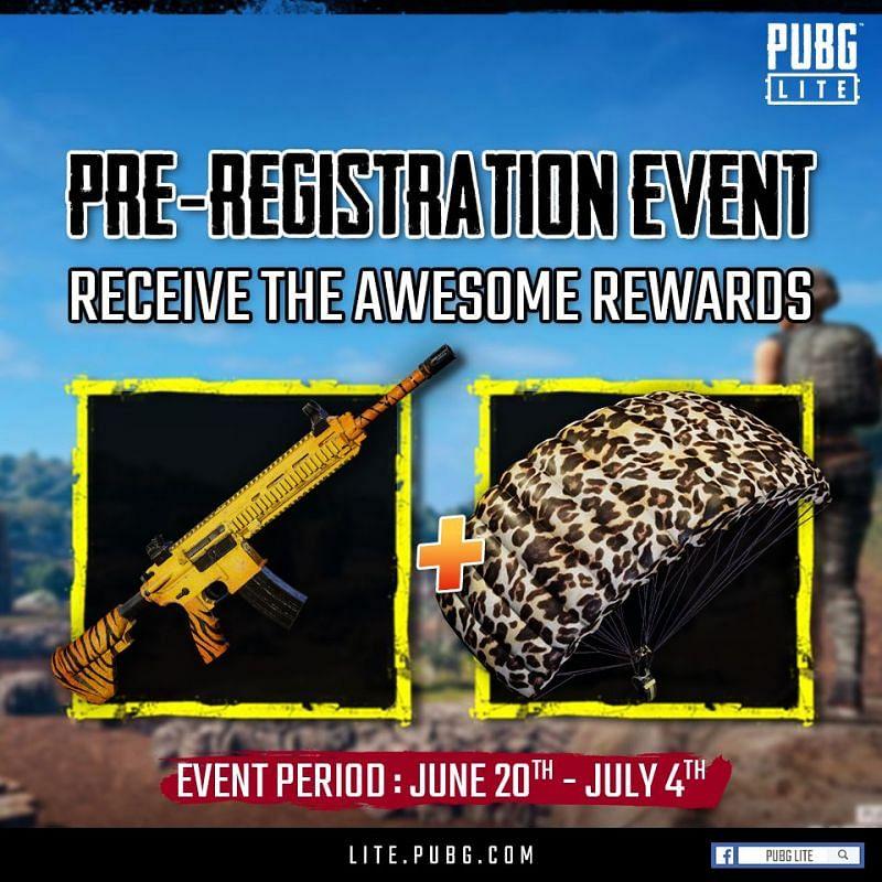 PUBG Lite Pre Registration
