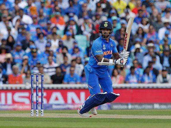 Shikhar Dhawan scored a match winning century