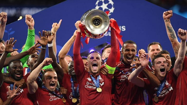 Liverpool won the 2018-19 edition of the UEFA Champions League