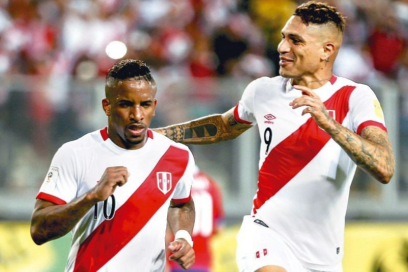 Farfan and Guerrero are still the focal points of Peru