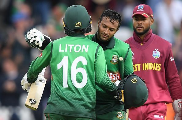 Bangladesh defeated West Indies in their last match of ICC Cricket World Cup 2019