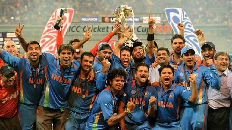 2011 में विश्व कप जीतने वाली भारतीय टीम