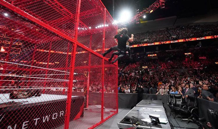 Jim Ross once dubbed the Hell in a Cell