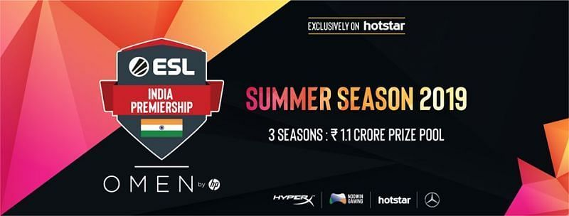 ESL India Premiership Summer Season 2019 LAN Finals