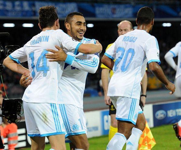 SSC Napoli v Olympique de Marseille - UEFA Champions League