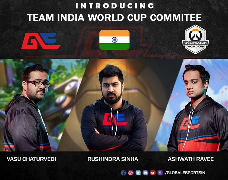 World Cup Committe for Indian Overwatch team