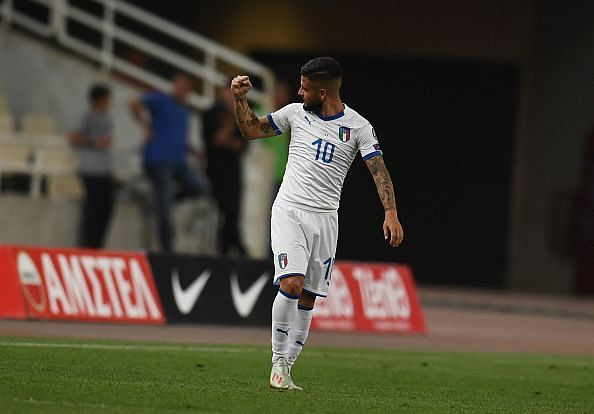 Insigne was at this sensational best against Greece for the Azzurri