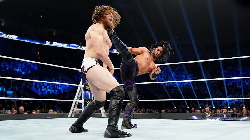 Ali had a great start to his time on SmackDown Live, feuding with then WWE Champion Daniel Bryan.