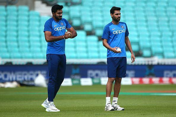 Vijay Shankar and Bhuvneshwar Kumar are both struggling to get fit.
