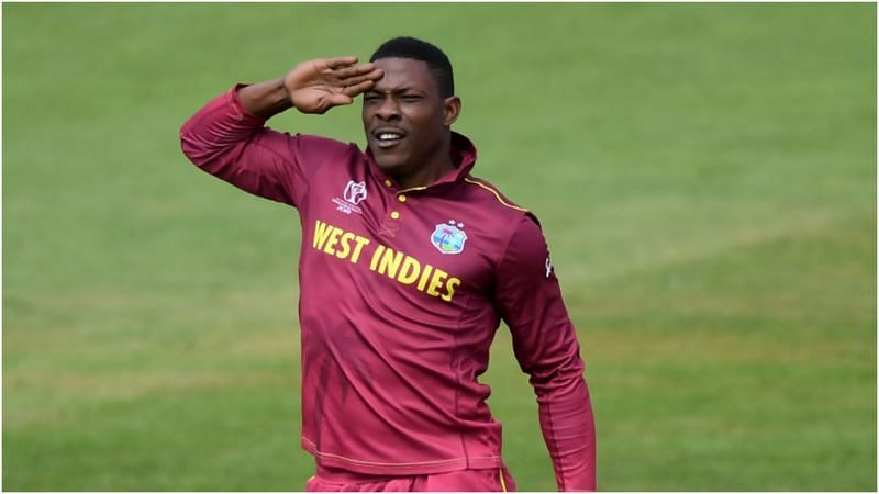 Sheldon Cottrell is an animated man on the field