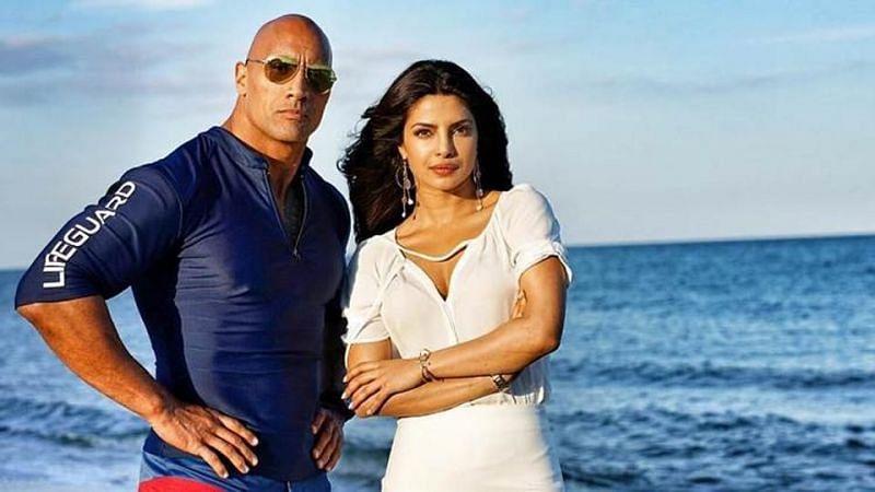 द रॉक और प्रियंका चोपड़ा एक साथ फिल्म में काम कर चुके हैं