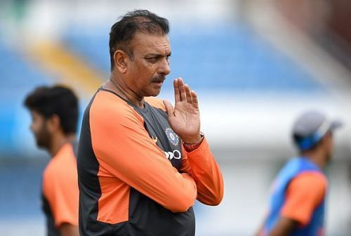Ravi Shastri is the present coach of Indian Men