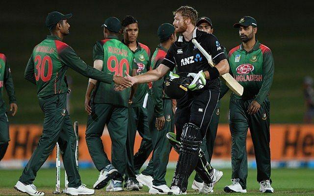 Bangladesh pushed New Zealand hard