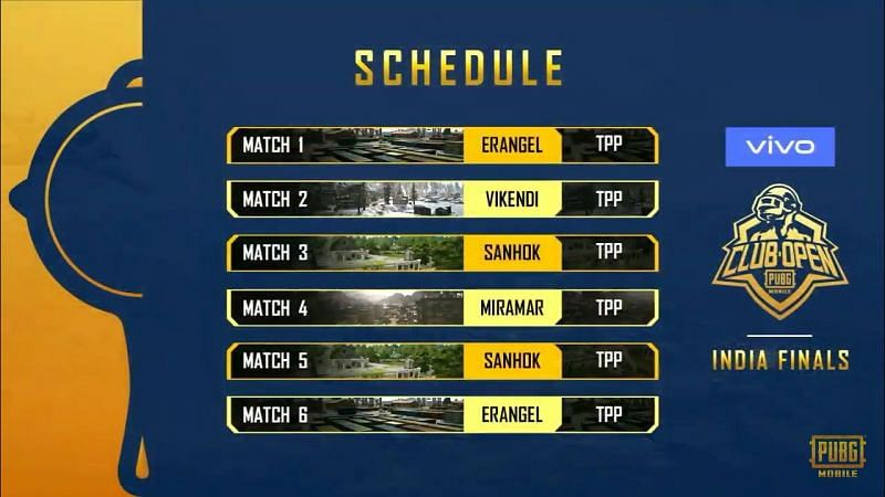 Schedule of PMCO Day 1