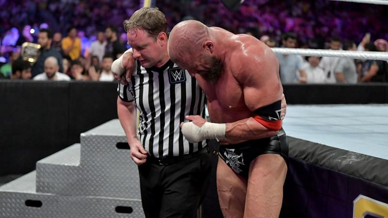 Triple H only competes in 3-4 televised matches per year