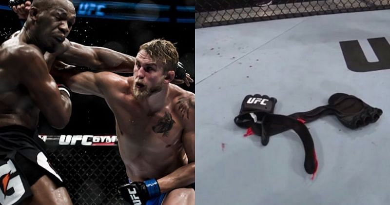 Gustafsson hung up his gloves in front of his hometown fans.
