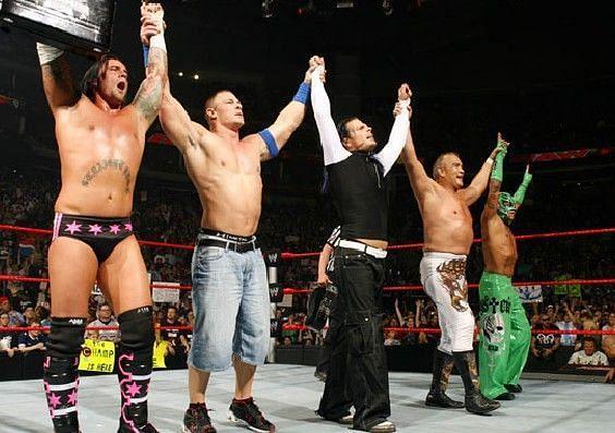 WWEE सुपरस्टार जैफ हार्डी और रे मिस्टीरियो