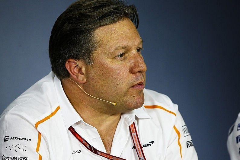 Brown feels Mclaren is starting to show Mercedes-like qualities