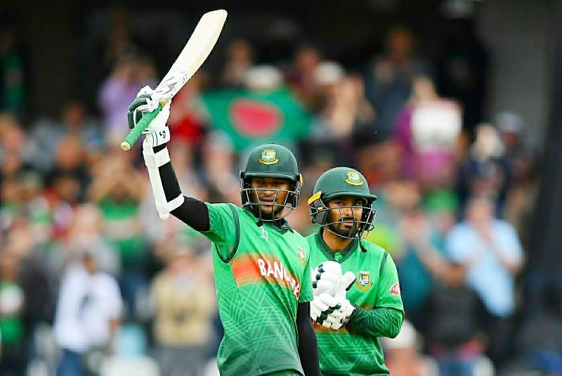 Shakib Al Haasan - Bangladesh David Warner - Australia