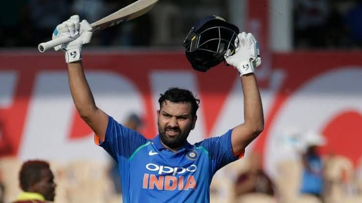 Rohit Sharma pummels the West Indies attack