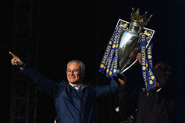 Leicester City Barclays Premier League Winners Bus Parade
