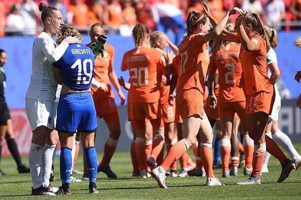 Italy v Netherlands: Quarter Final - 2019 FIFA Women