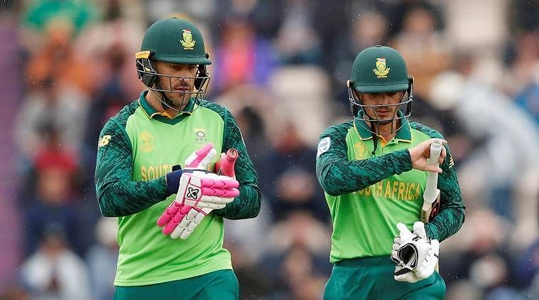 Can Du Plessis and De Kock get at least a consolation victory for their side?