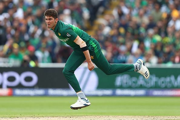 Shaheen Afridi took 4 wickets against Afghanistan