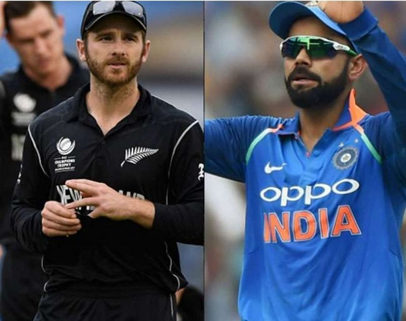 ICC CRICKET WORLD CUP - NEWZEALAND vs INDIA