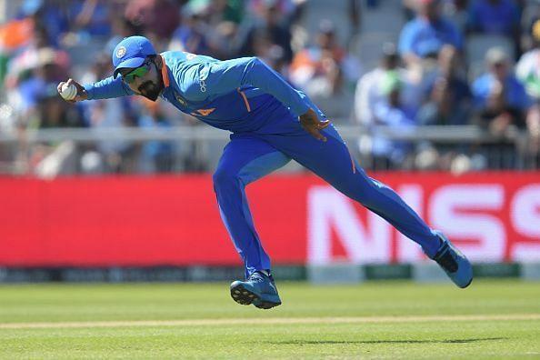 KL Rahul is one of the best fielders in the team
