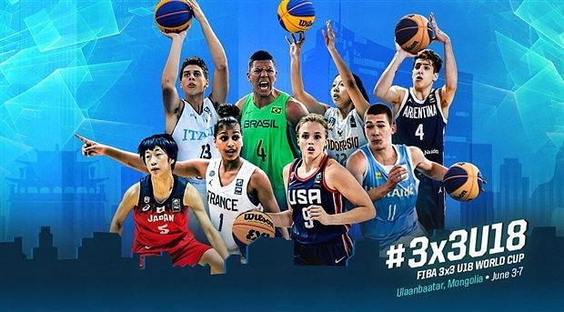 FIBA 3x3 U18 World Cup is all set to tip off at Ulaanbaatar, Mongoliafrom June 3, 2019