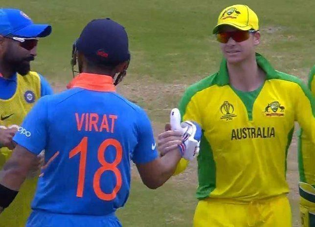 The Indian captain Virat Kohli didn
