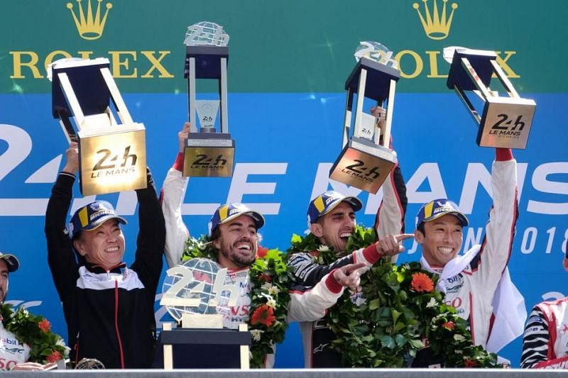 The 2018 24h of Le Mans saw Toyota lifting the coveted trophy