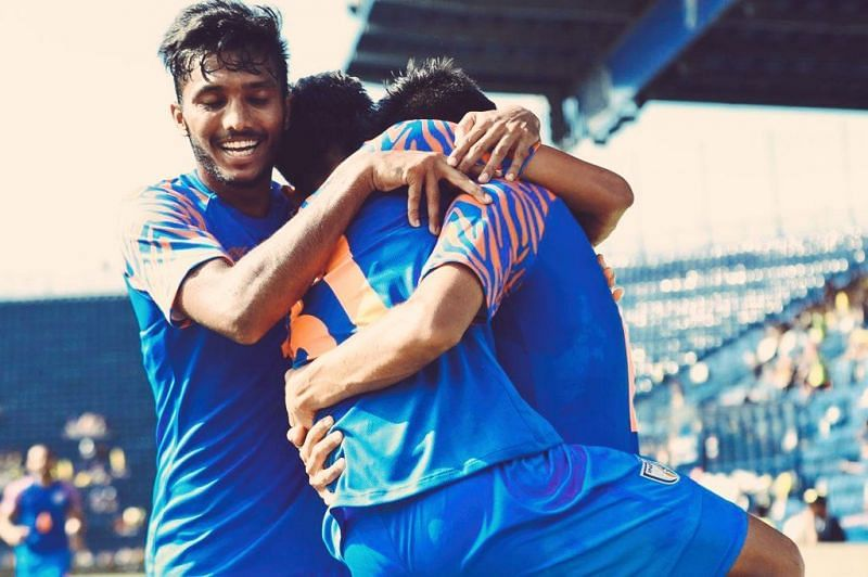Playing with a second string side, India put up commanding performance