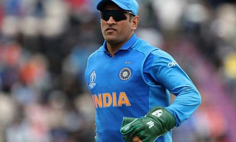 MS Dhoni had a Paramilitary insignia on his gloves during the match against the Proteas