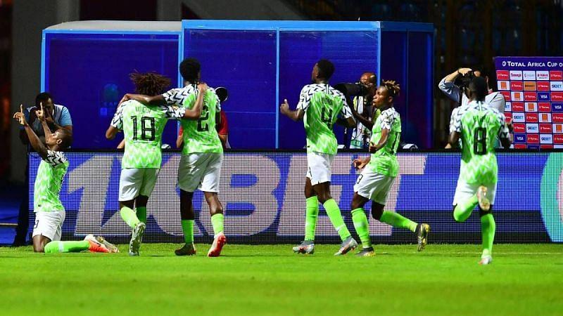 Nigeria take three points vs. Burundi.