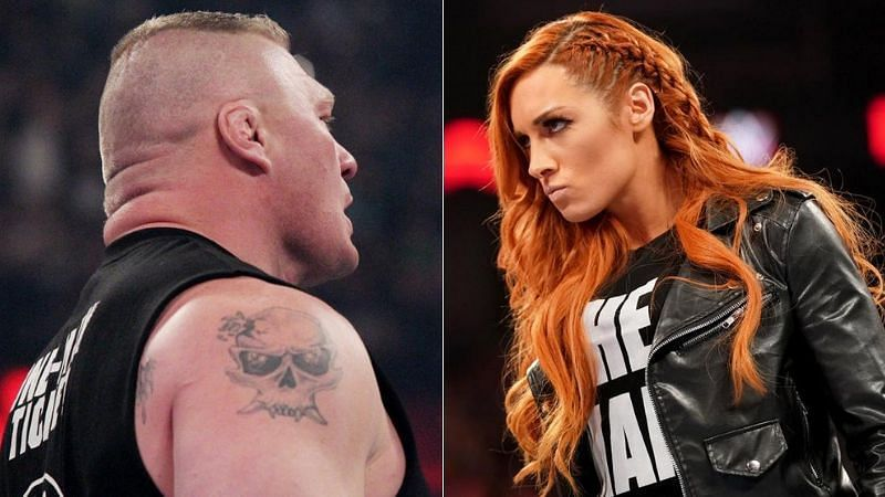 USA Network Not Happy With Brock Lesnar And Becky Lynch On SmackDown