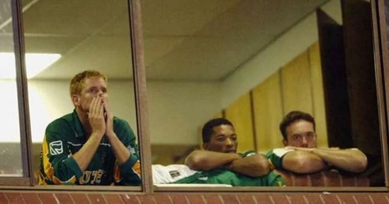 SA was heart-broken as it crashed out of the 2003 WC in front of the home crowd