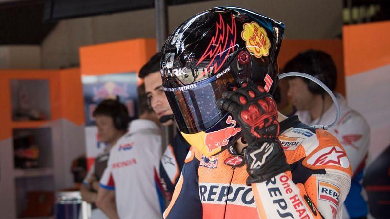 Jorge Lorenzo at the Catalunya Grand Prix