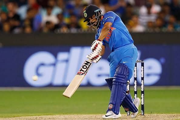 Kedar Jadhav has not got too many opportunities with the bat either.