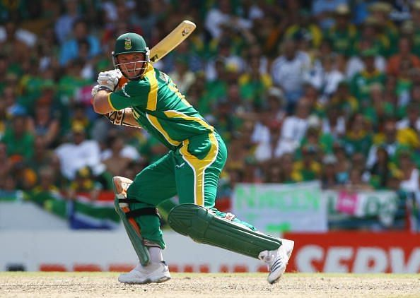 Graeme Smith showed flashes of brilliance in the 2007 World Cup, averaging almost 50.