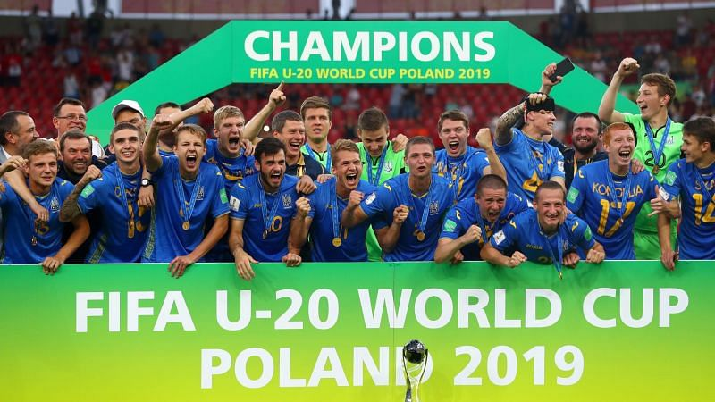 Ukraine with the U-20 World Cup