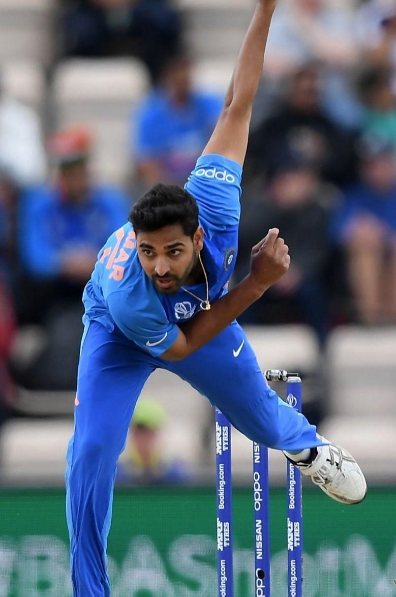 Indian cricket player - Bhuvaneswar kumar
