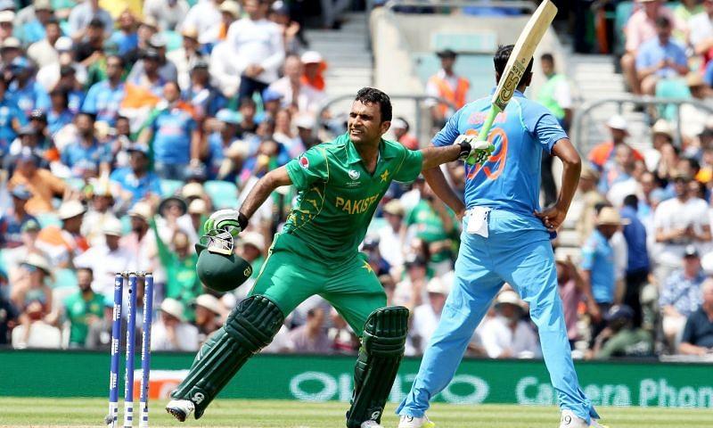 फखर ज़मान भारत के खिलाफ चैंपियंस ट्रॉफी 2017 के फाइनल में शतक लगाने के बाद