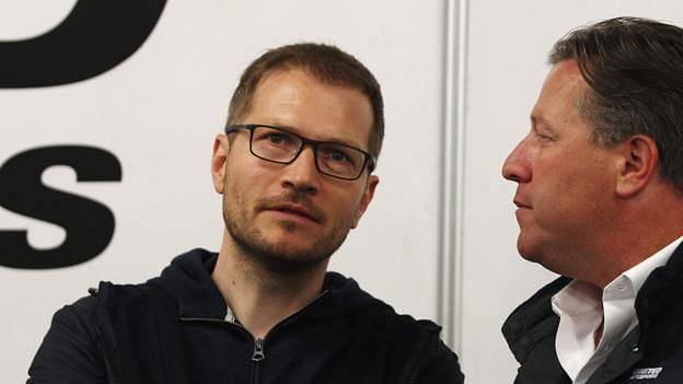Brown has been impressed with Andreas Seidl
