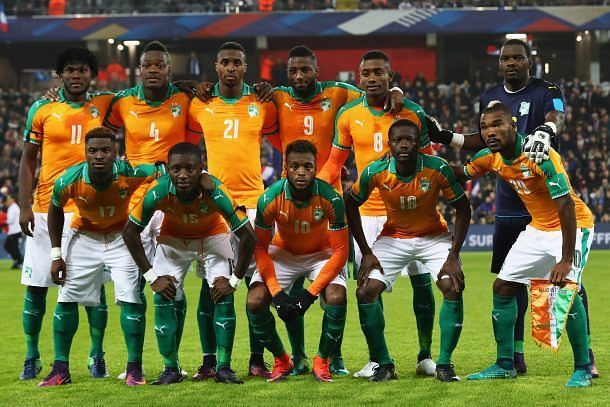 Ivory Coast National Football Team Teams Background