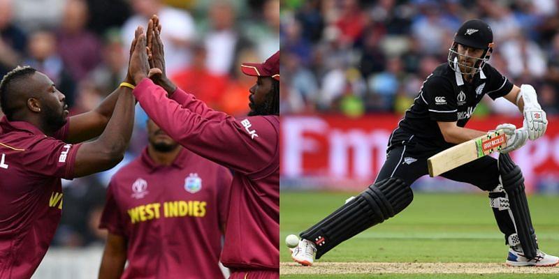 वेस्टइंडीज  vs न्यूजीलैंड