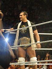 Del Rio as WWE Champion in 2011