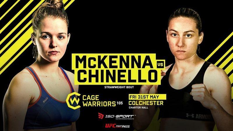 McKenna Vs Chinello (Cage Warriors 105)